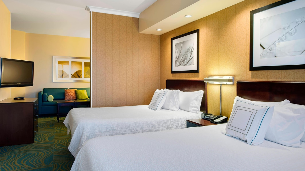 Springhill Suites Council Bluffs Double/Double Suite