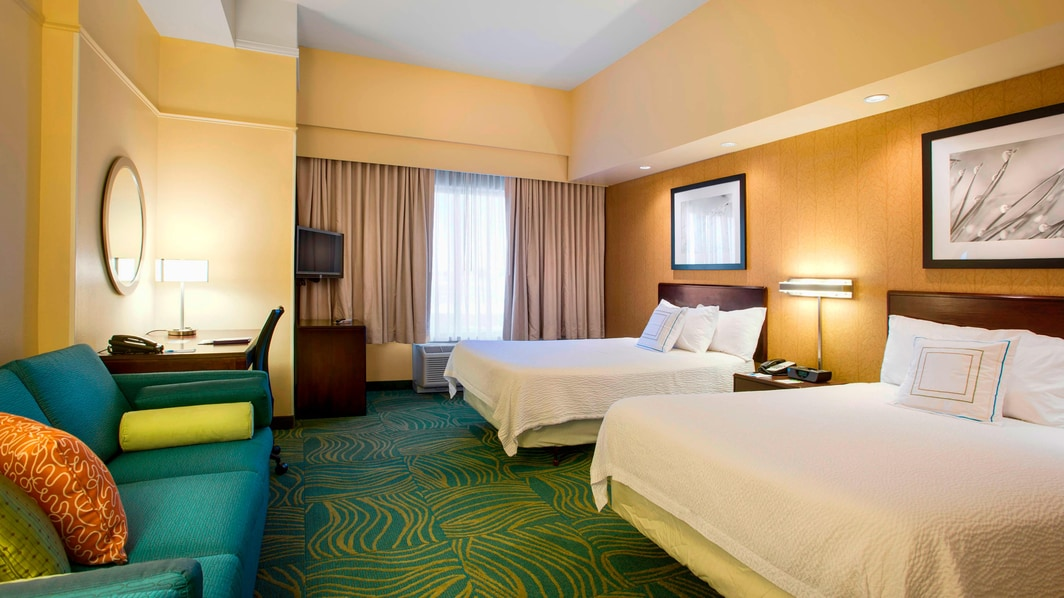 Springhill Suites Council Bluffs Double Suite
