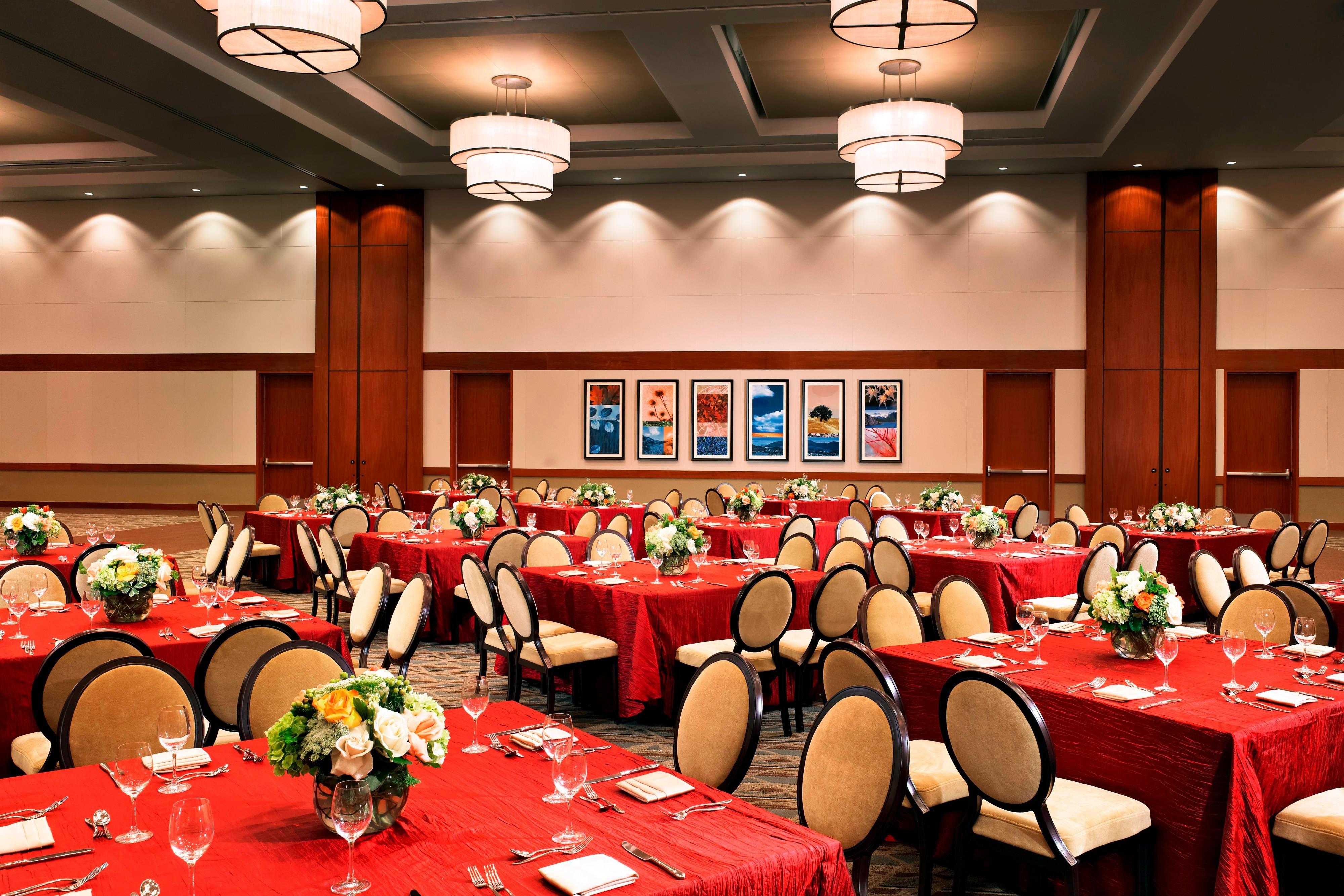 California Ballroom - social Event setup
