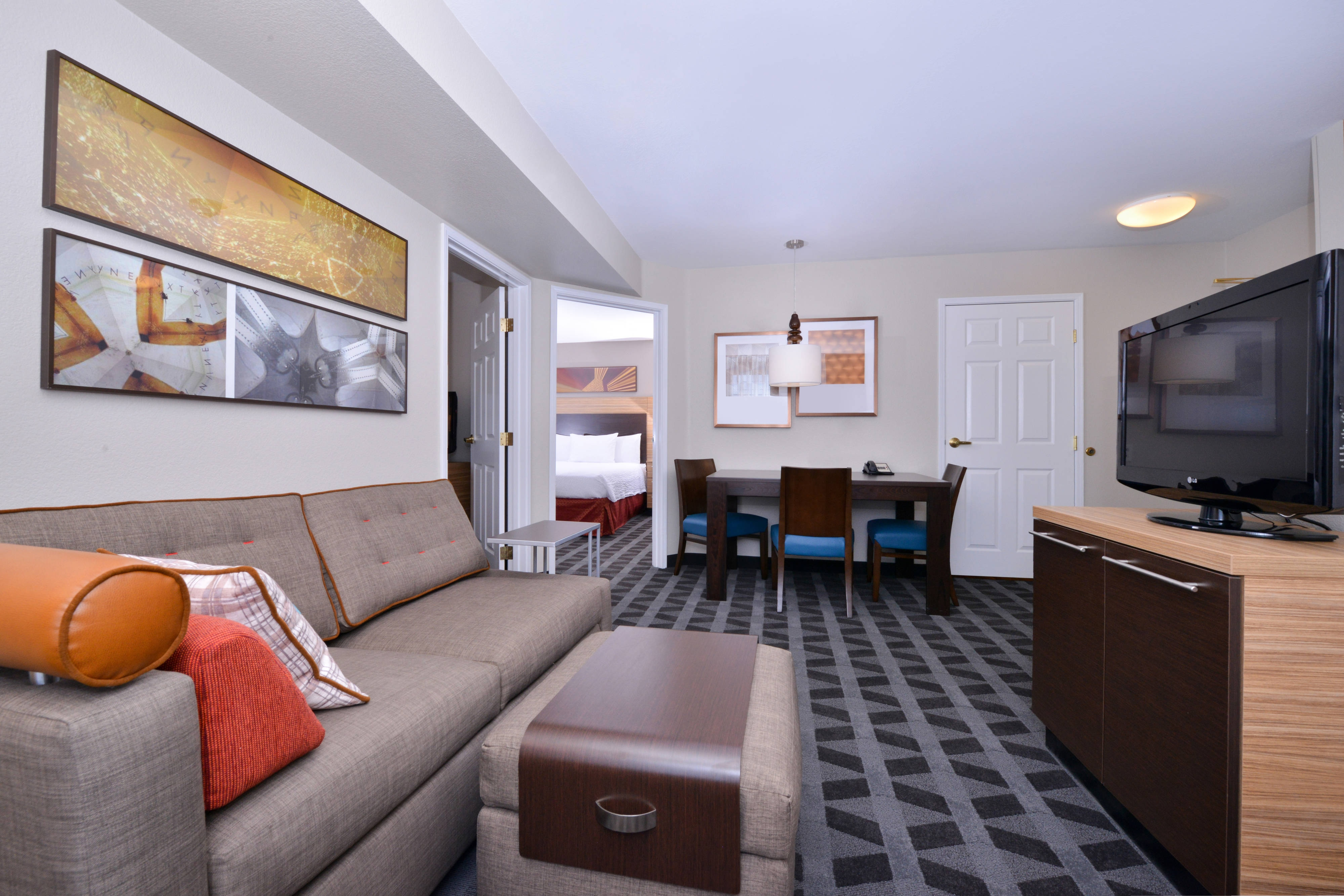Two-Bedroom Suite - Living Room