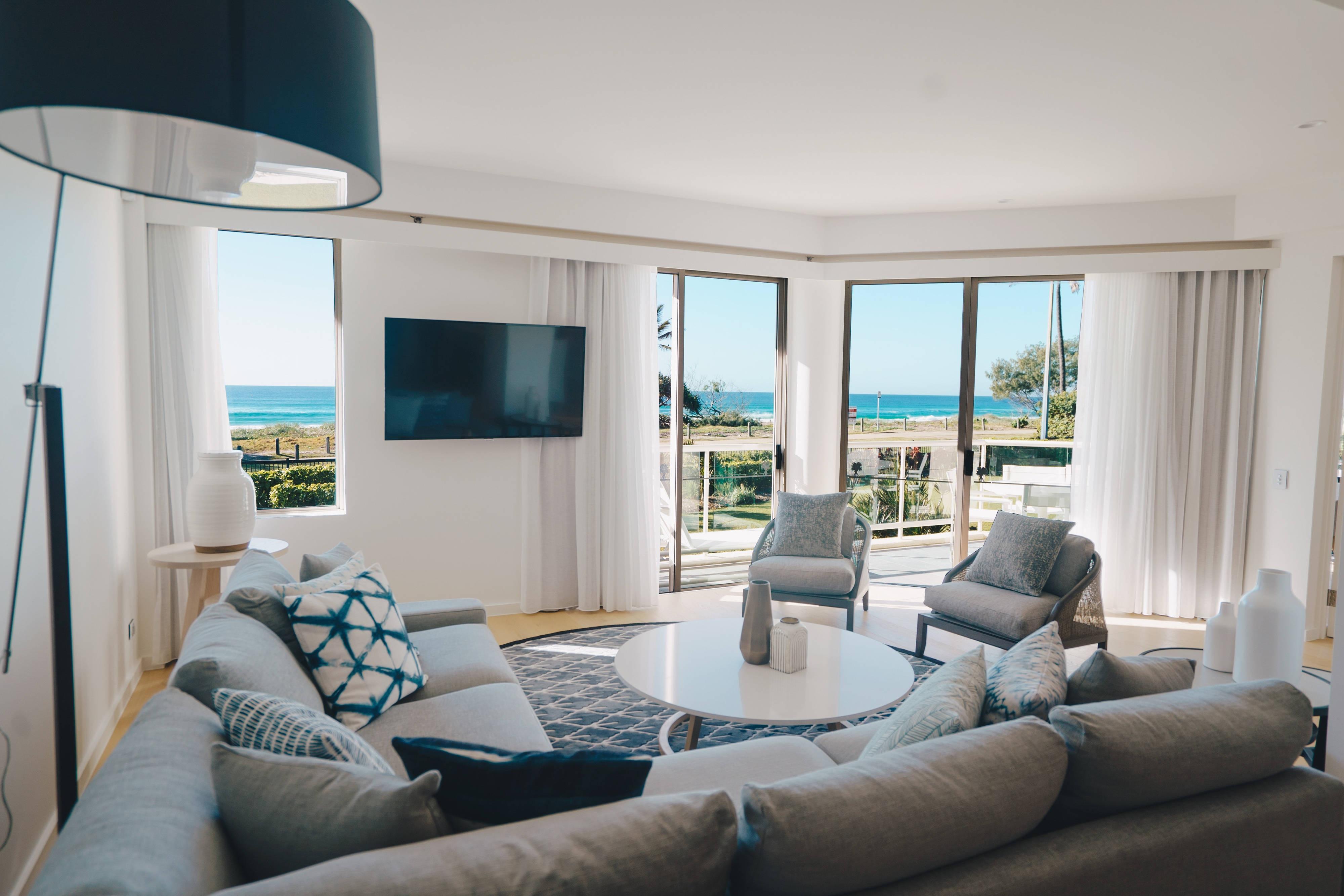 Lounge da villa Deluxe Ocean