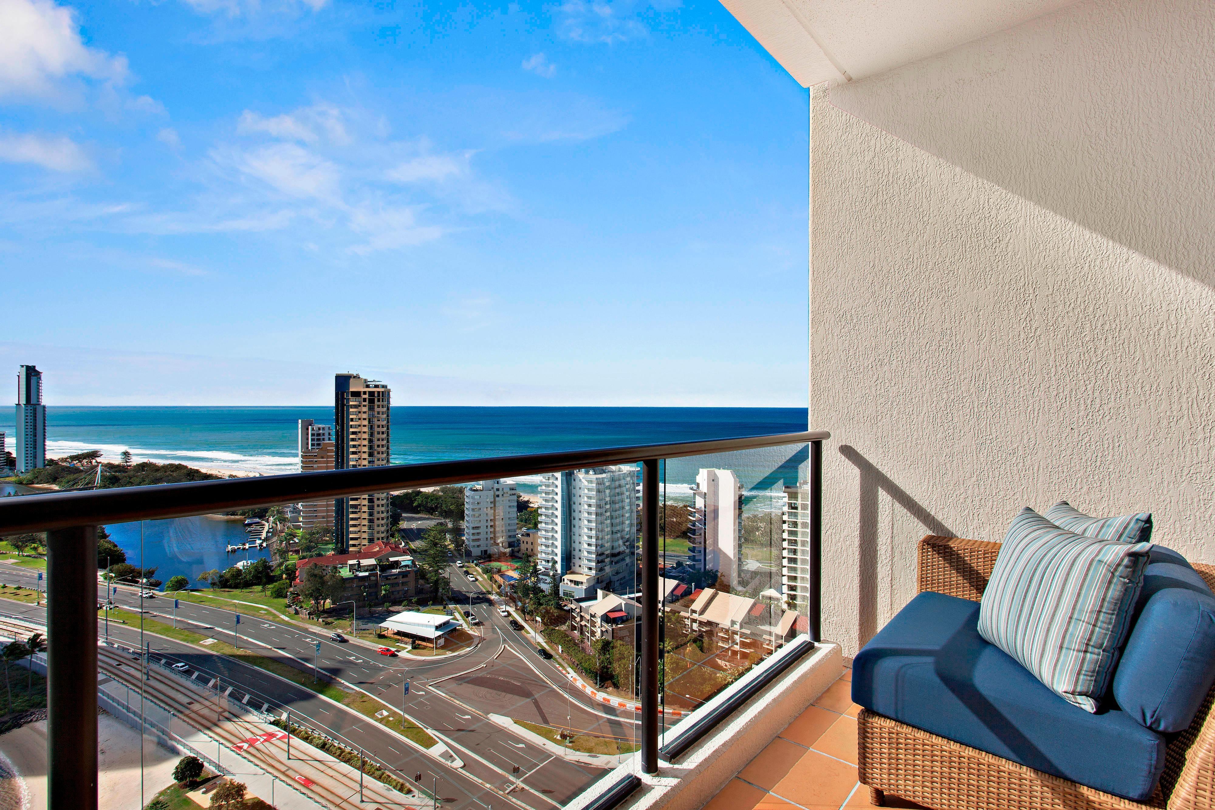 Suite avec vue sur le lagon–balcon