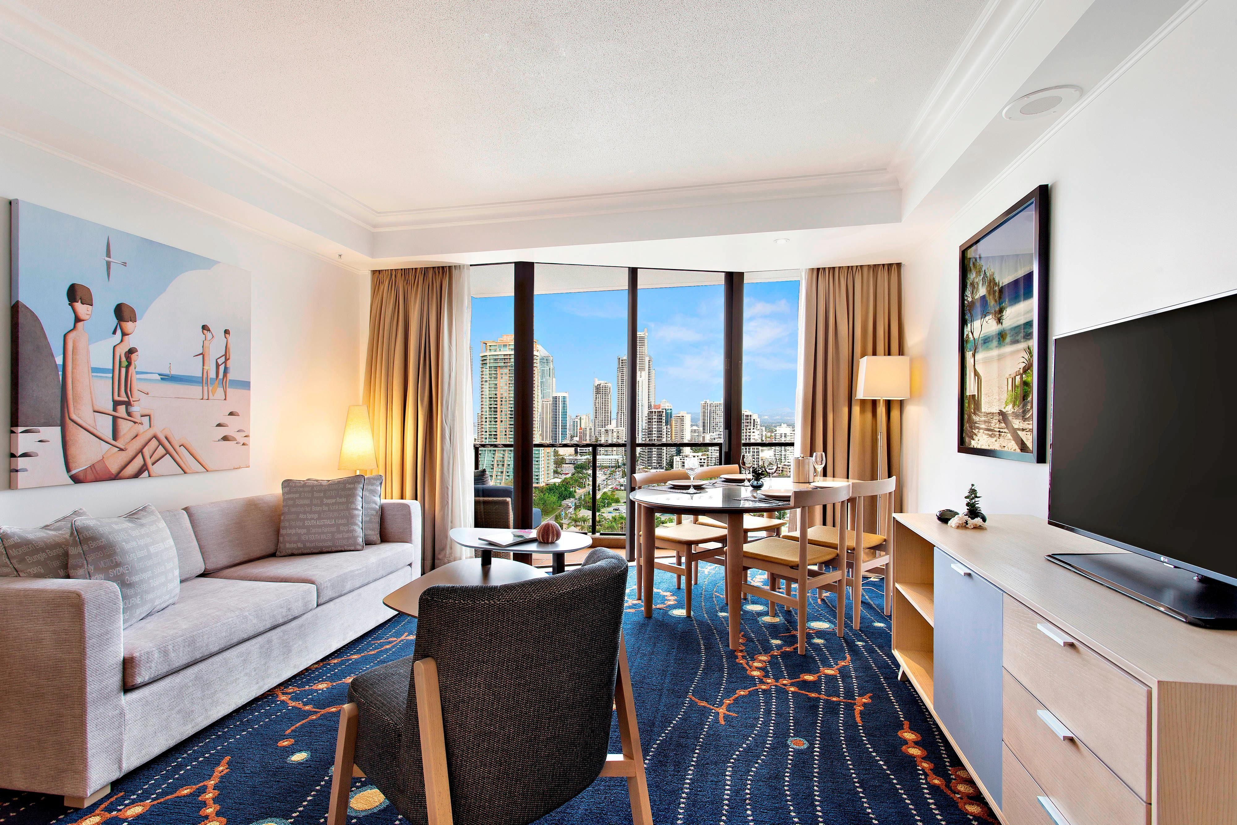 City View Suite with Balcony