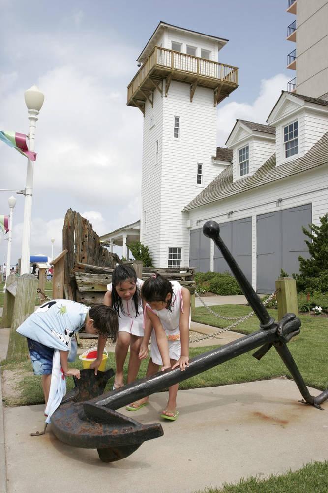 Coast Guard Museum – Suffolk Courtyard