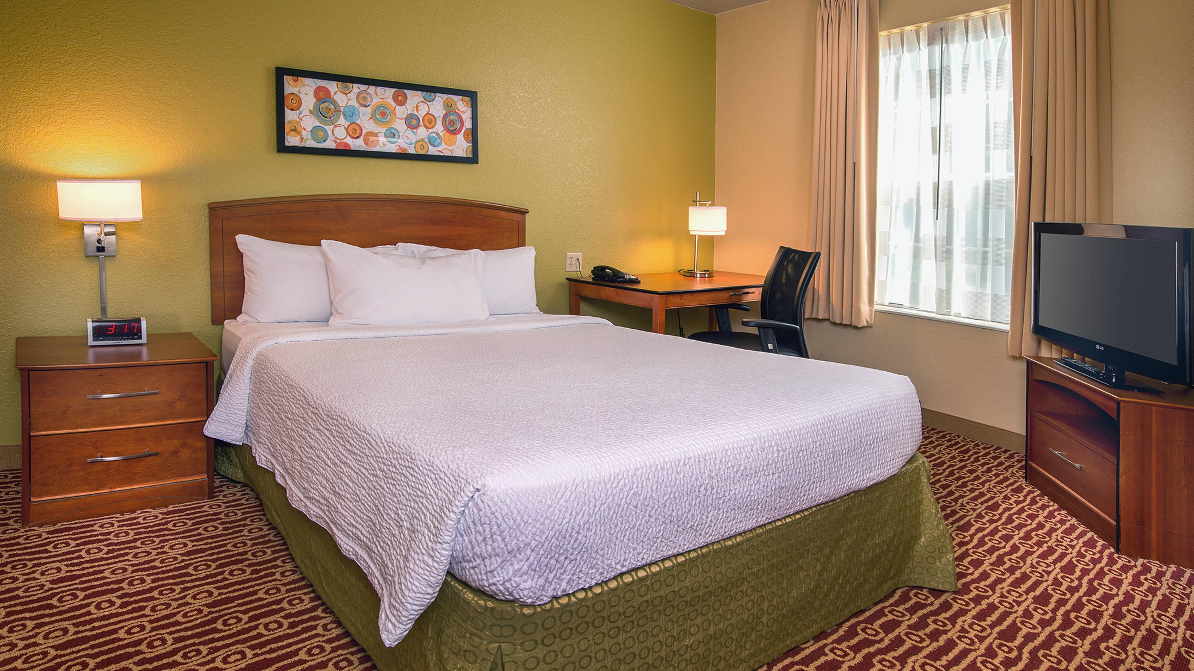 Área de dormir de la suite de un dormitorio