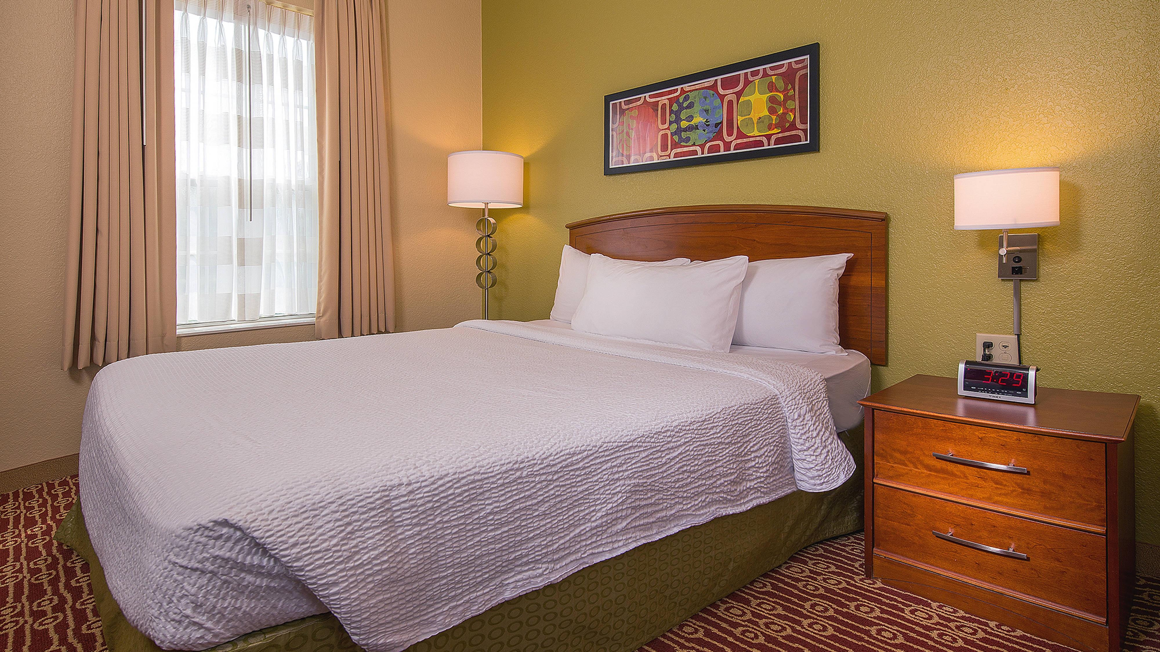 Área de dormir de la suite de dos dormitorios