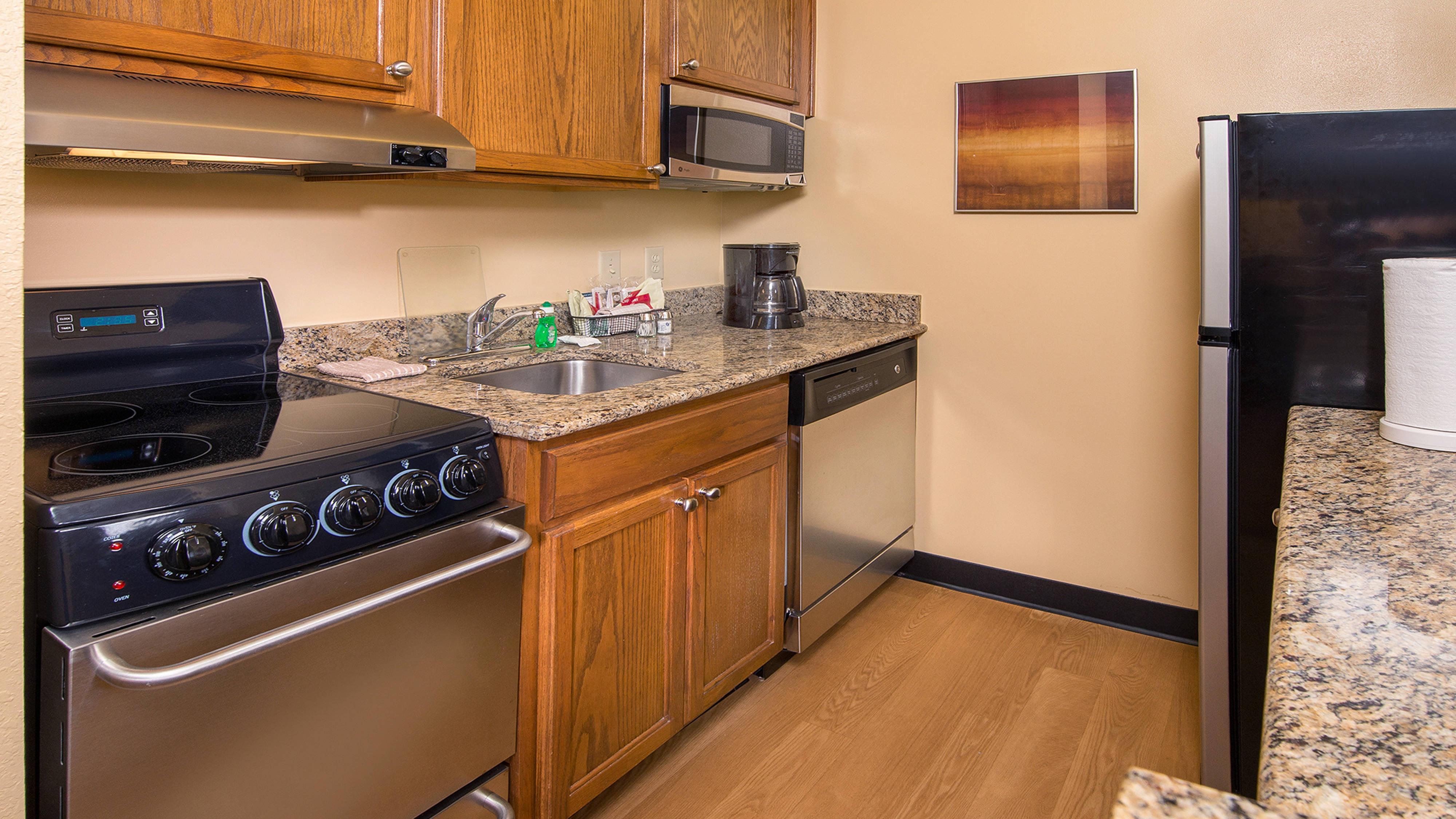 Cocina de la suite Studio