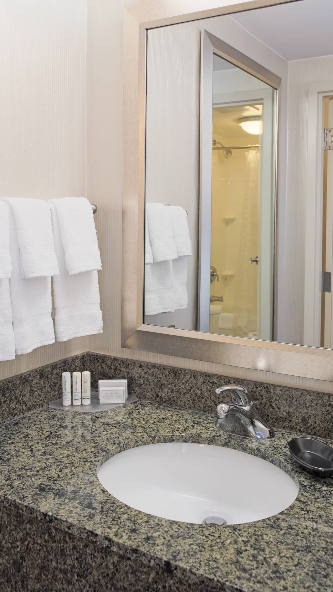 SpringHill Suites Virginia Beach Oceanfront Bathroom