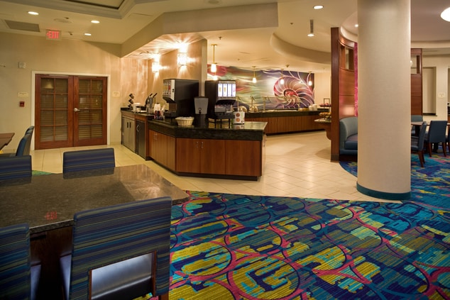 SpringHill Suites Virginia Beach Breakfast Area