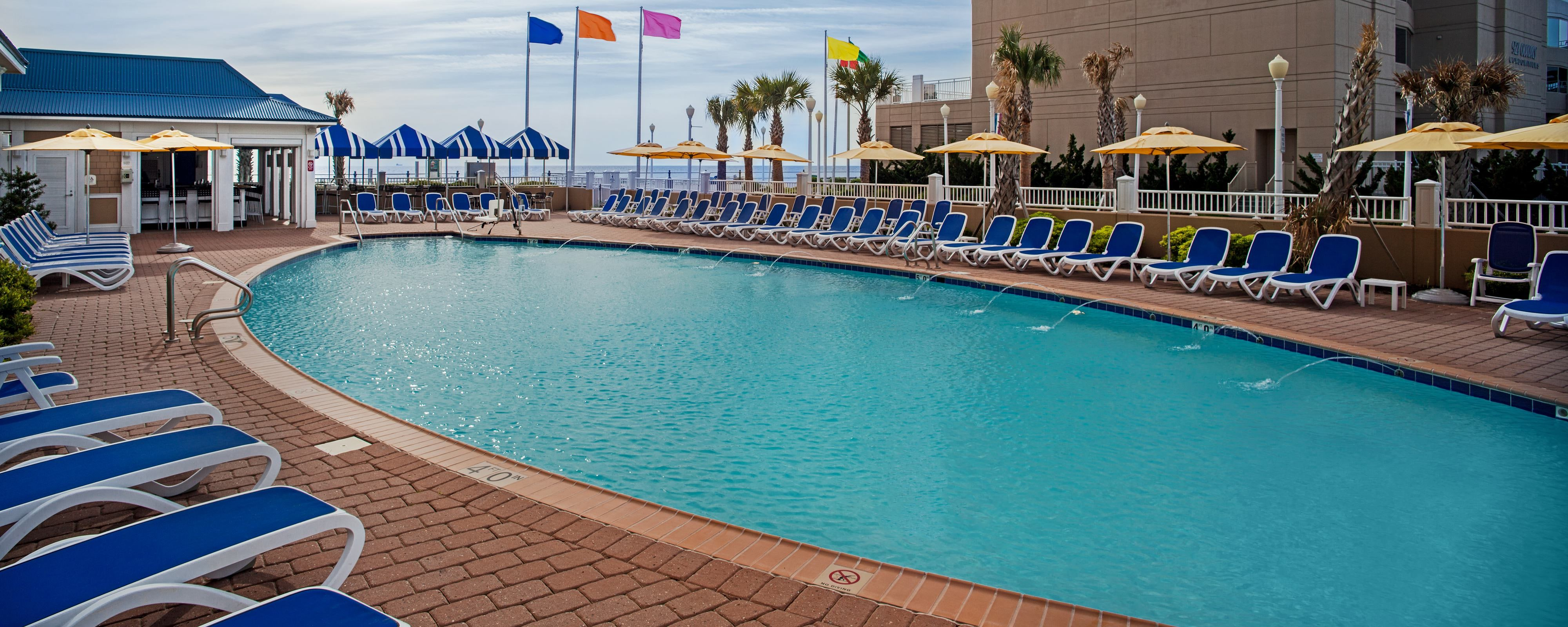 SpringHill Suites Virginia Beach Oceanfront Outdoor Pool