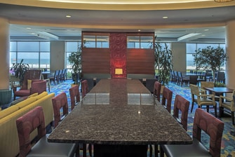 SpringHill Suites Virginia Beach Oceanfront Communal Table