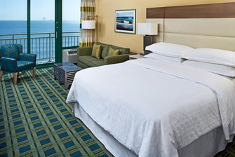 Oceanfront Room - One King Guest Room