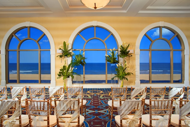 Ocean Grand Foyer Wedding