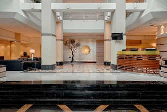 Lobby main entrance View