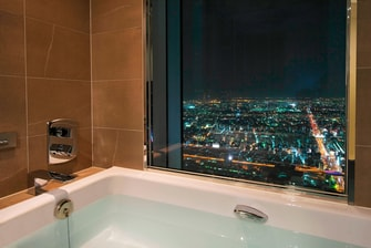 Bath view Osaka Marriott