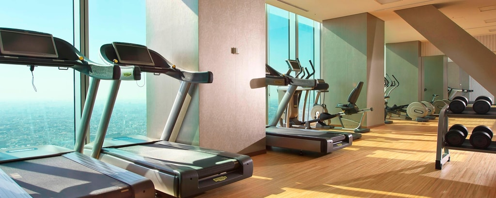 Fitness im Osaka Marriott
