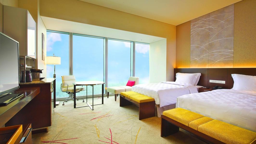 Habitación de lujo en el Osaka Marriott Miyako Hotel