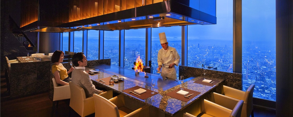 Osaka Marriott restaurant