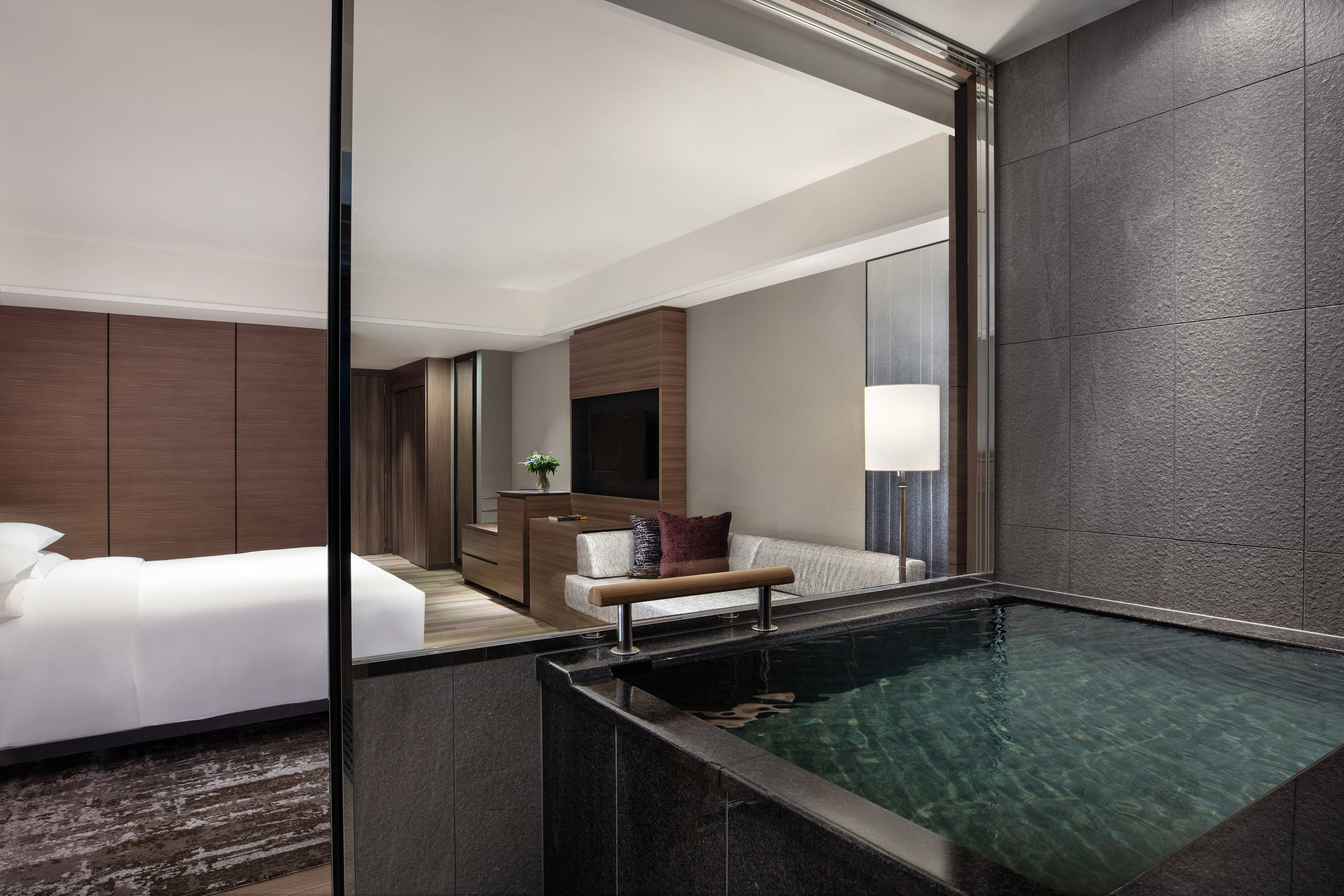 Premium King Guest Room Ocean-View with Hot-Spring Bath