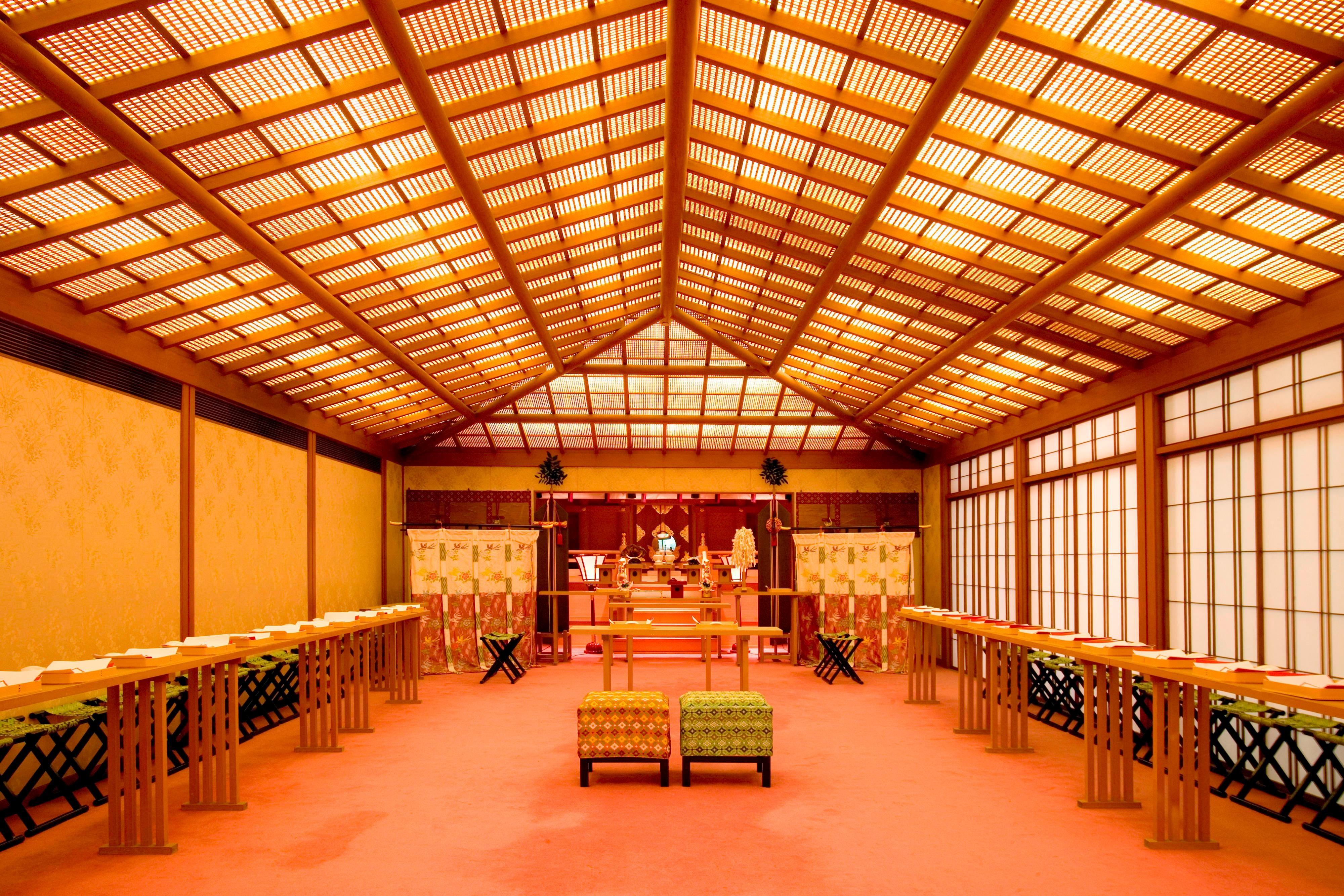 神前式場「福寿殿」
