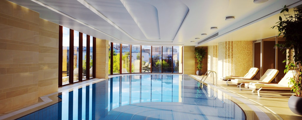 Pool Interior Novosibirsk Marriott Russia