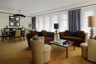 Presidential Suite Novosibirsk Marriott Russia