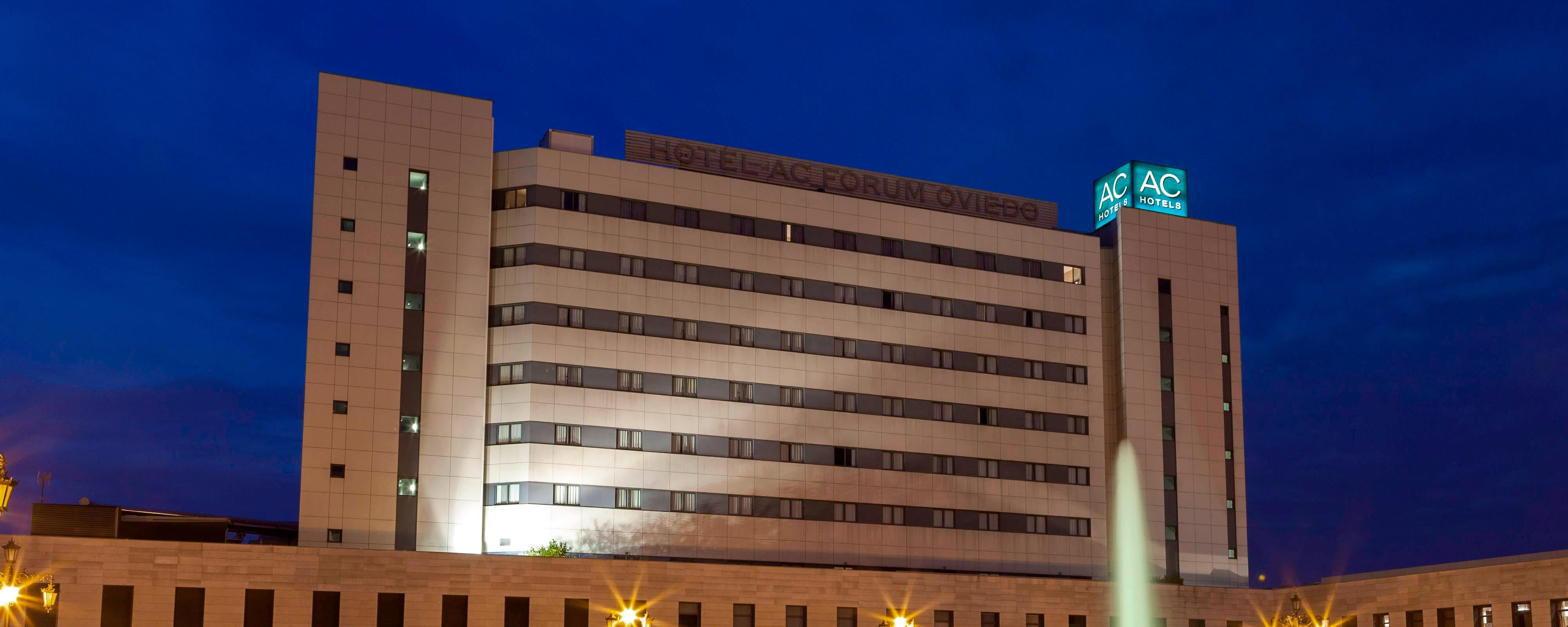 Modern business hotel in Oviedo