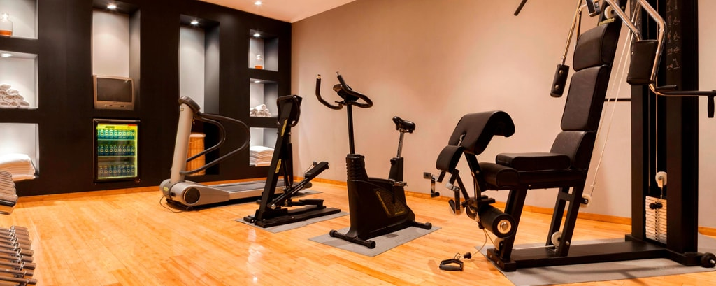 Hotel mit Fitness Center