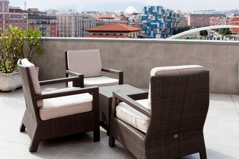 Hotels in Oviedo with terrace