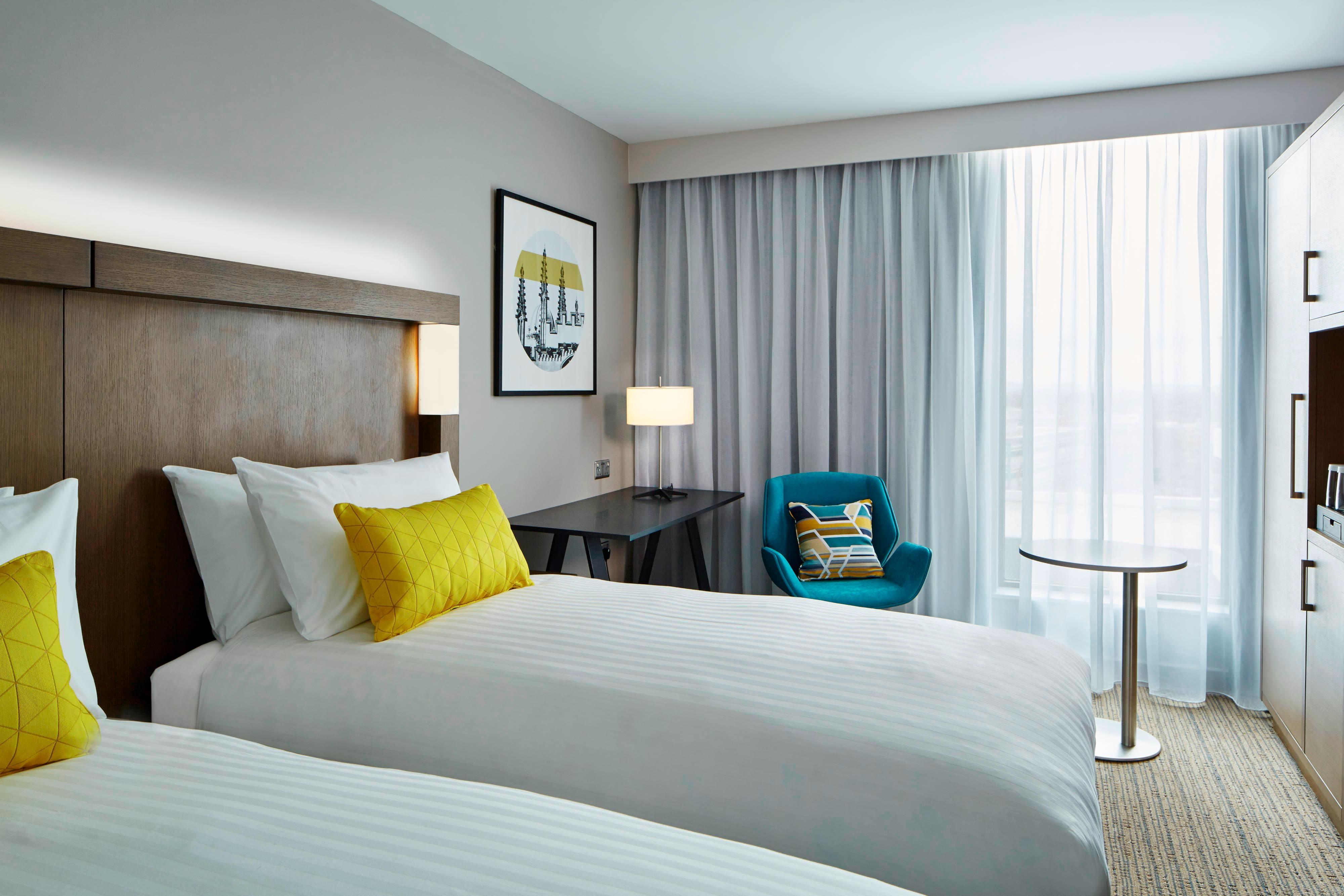 Habitación Deluxe con dos camas individuales