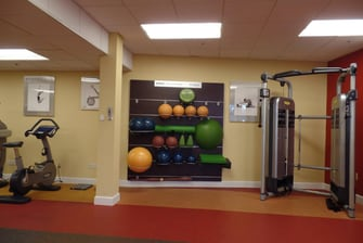 palo alto exercise room