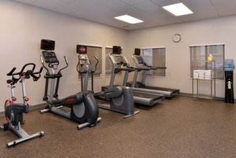 CA hotel with on-site fitness center