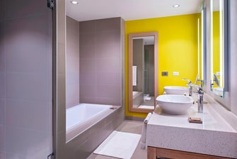 Guest Bathroom in Suites