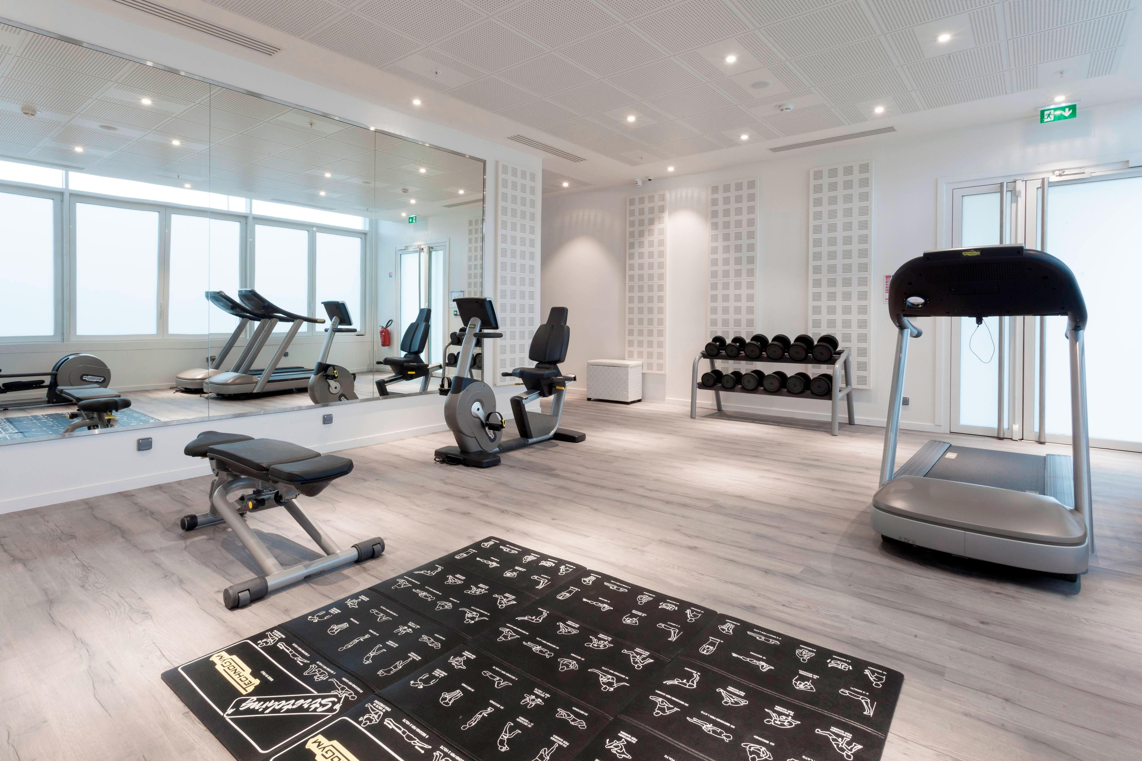 Fitness Center in Le Bourget Hotel