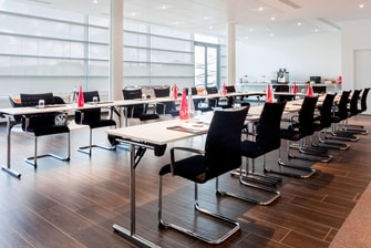 AC Hotel Bourget Theater Setup Meeting Room