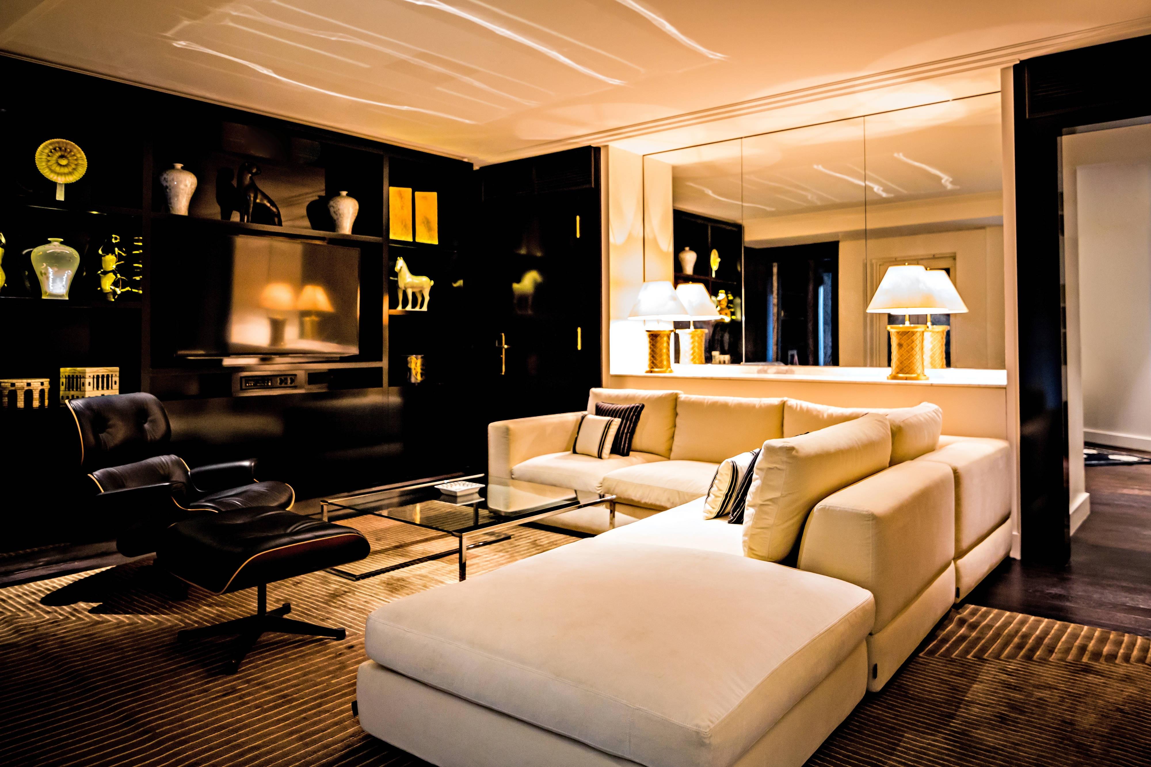 Appartement parisien, salon