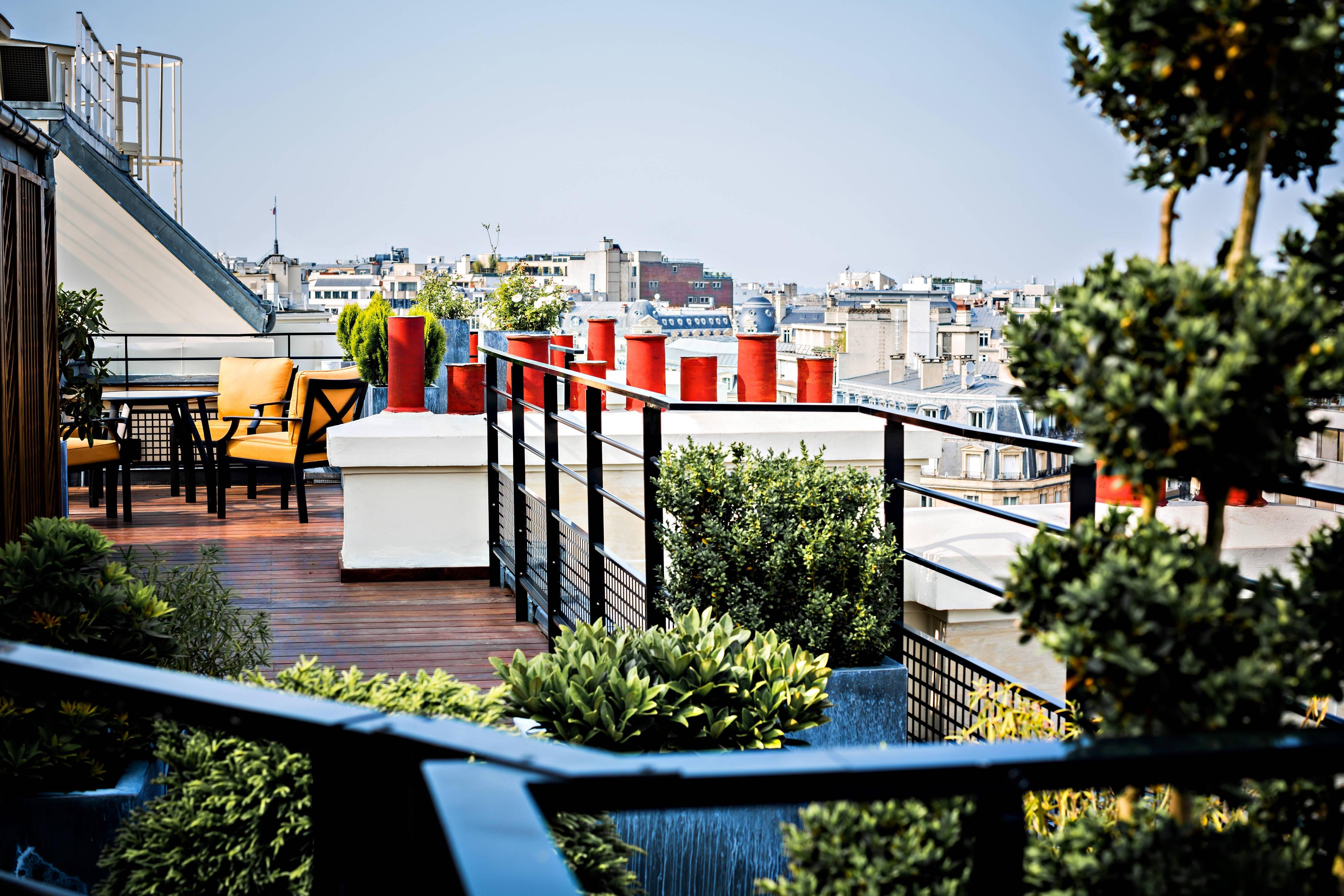 Appartement Parisien Dachterrasse