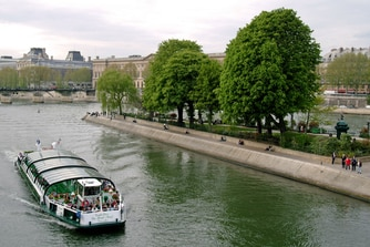 Bateau Mouche on the Seine river