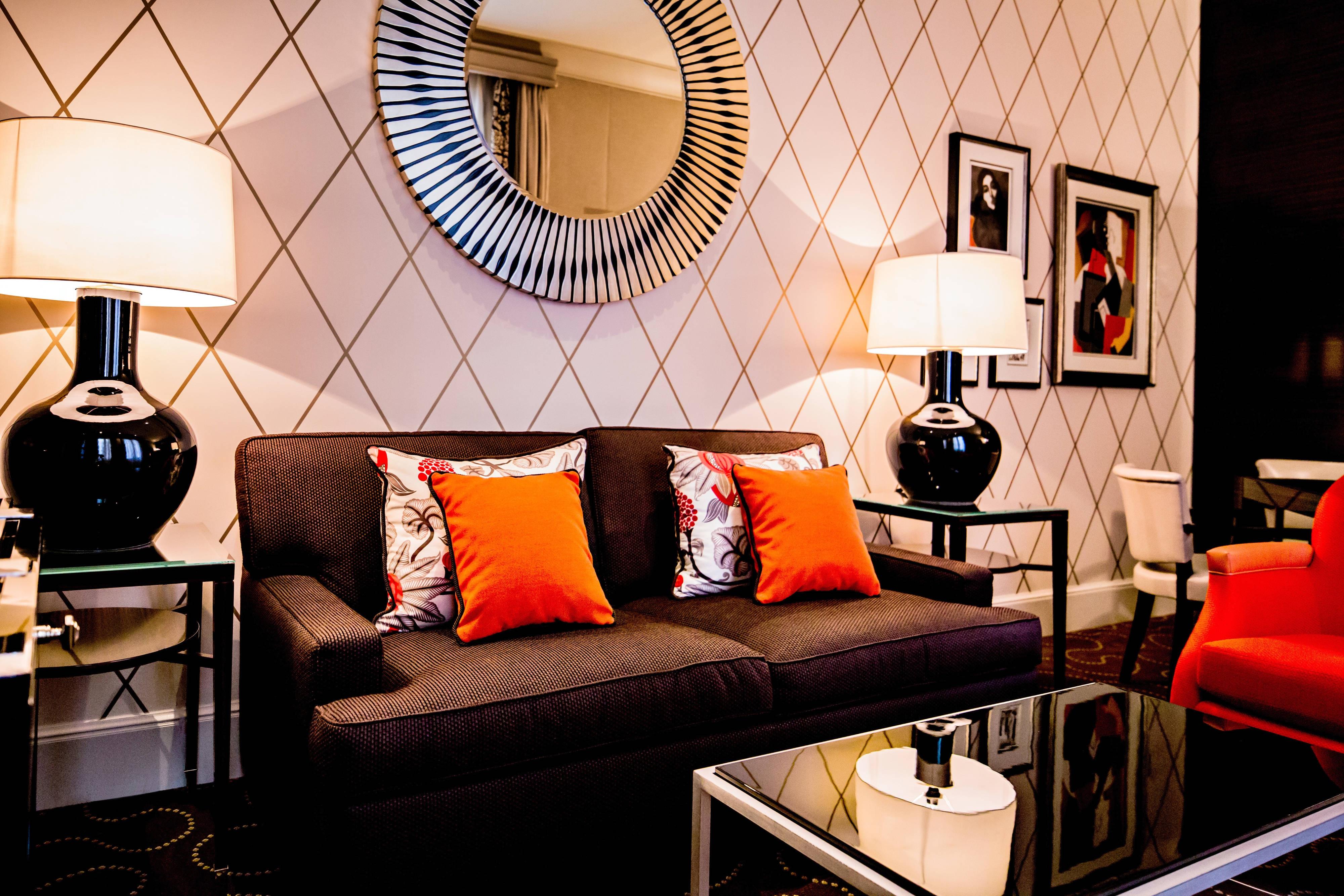 Suite Mosaic – salle de séjour