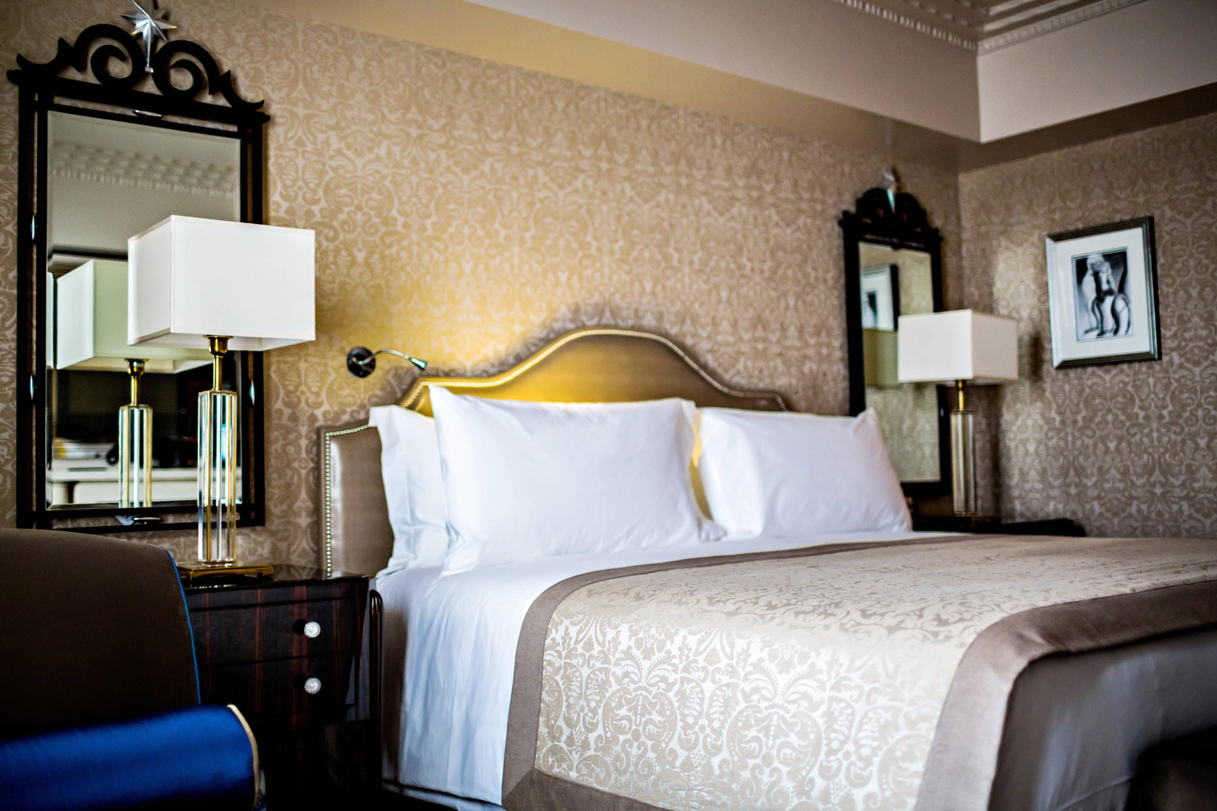 Suite Saphir du Prince de Galles – Chambre à coucher