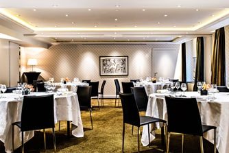 Salon Chaillot – Configuration banquet