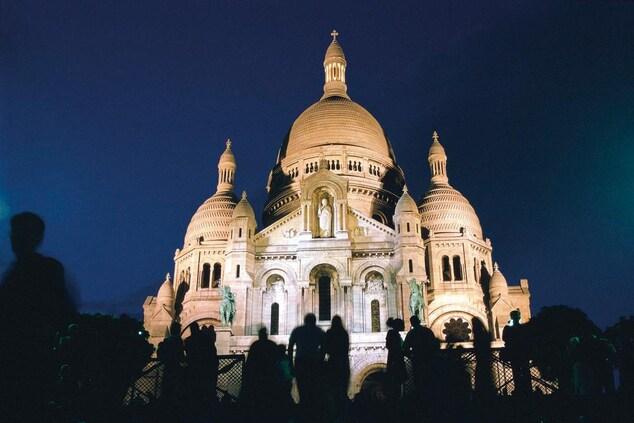Sacré Cœur in Montmartre, Paris