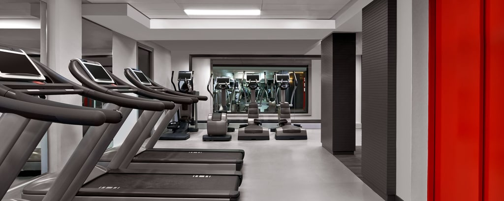 Paris Hotel Fitness Center Le Meridien Etoile