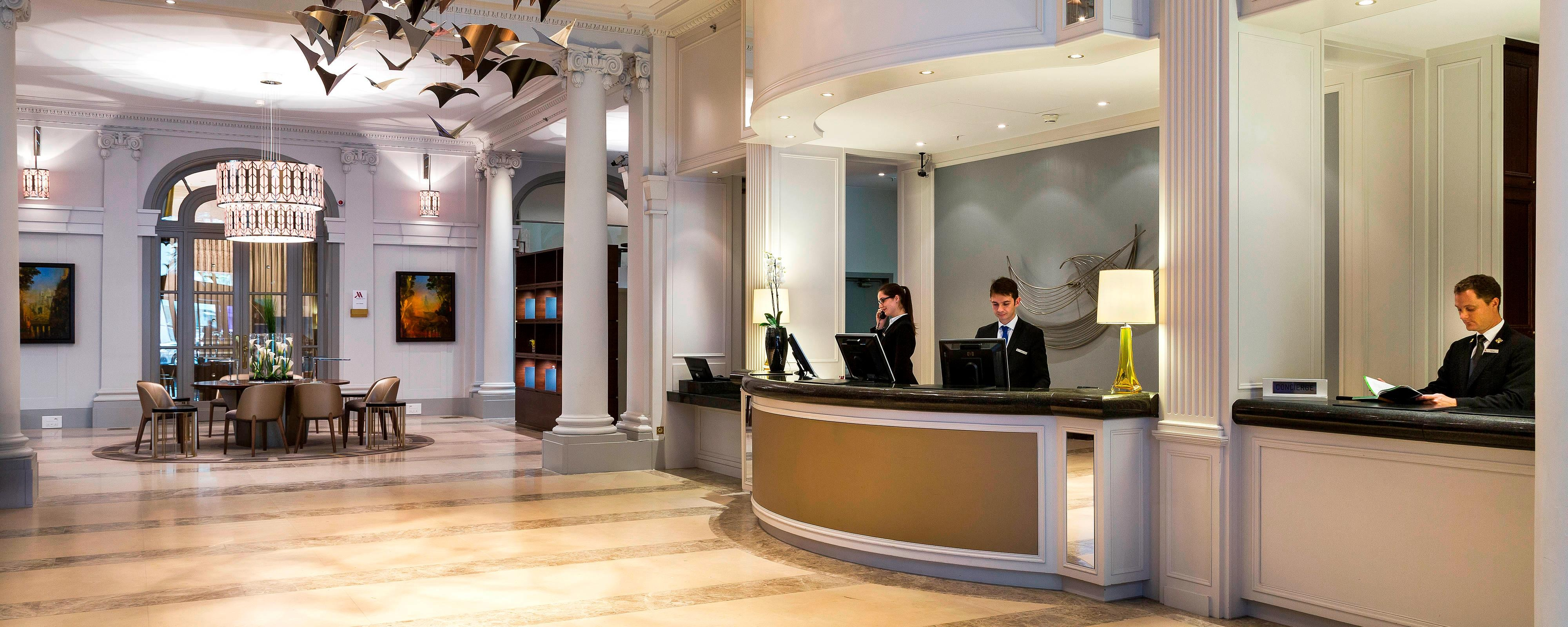 Paris Opera District front desk