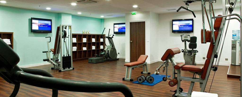 Paris hotel with fitness center