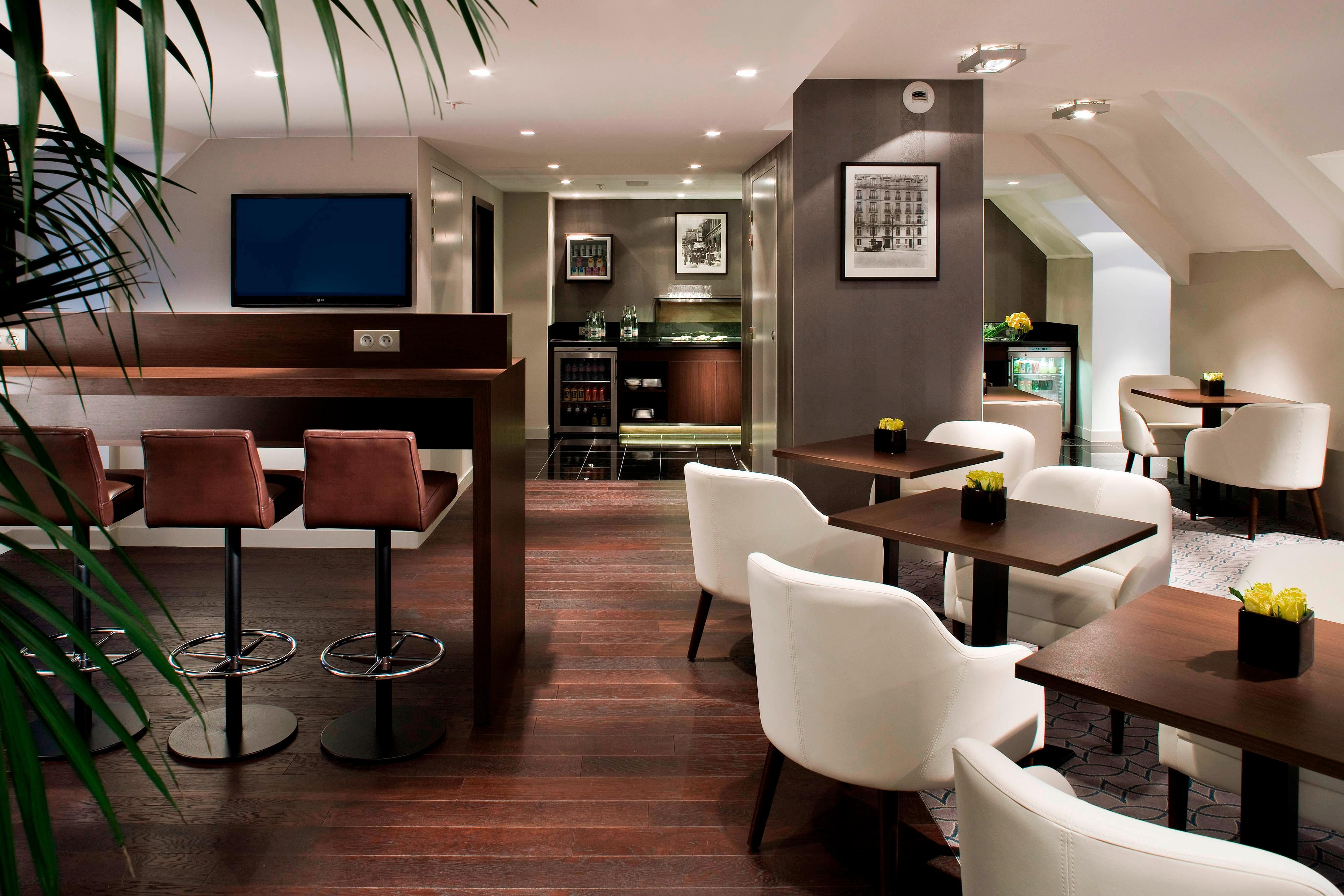 Executive-Lounge in Hotel in Paris