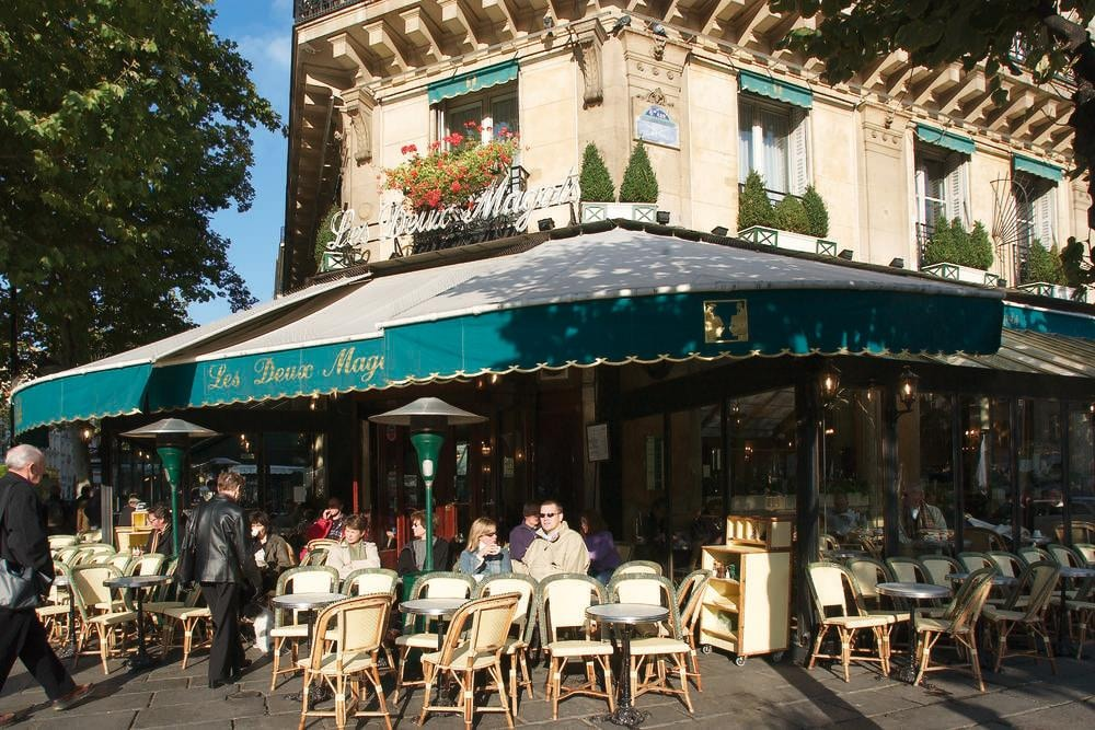 Café in Saint Germain des Prés