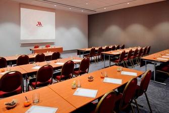 Sala de apoio da sala de reunião do Centro de Conferência