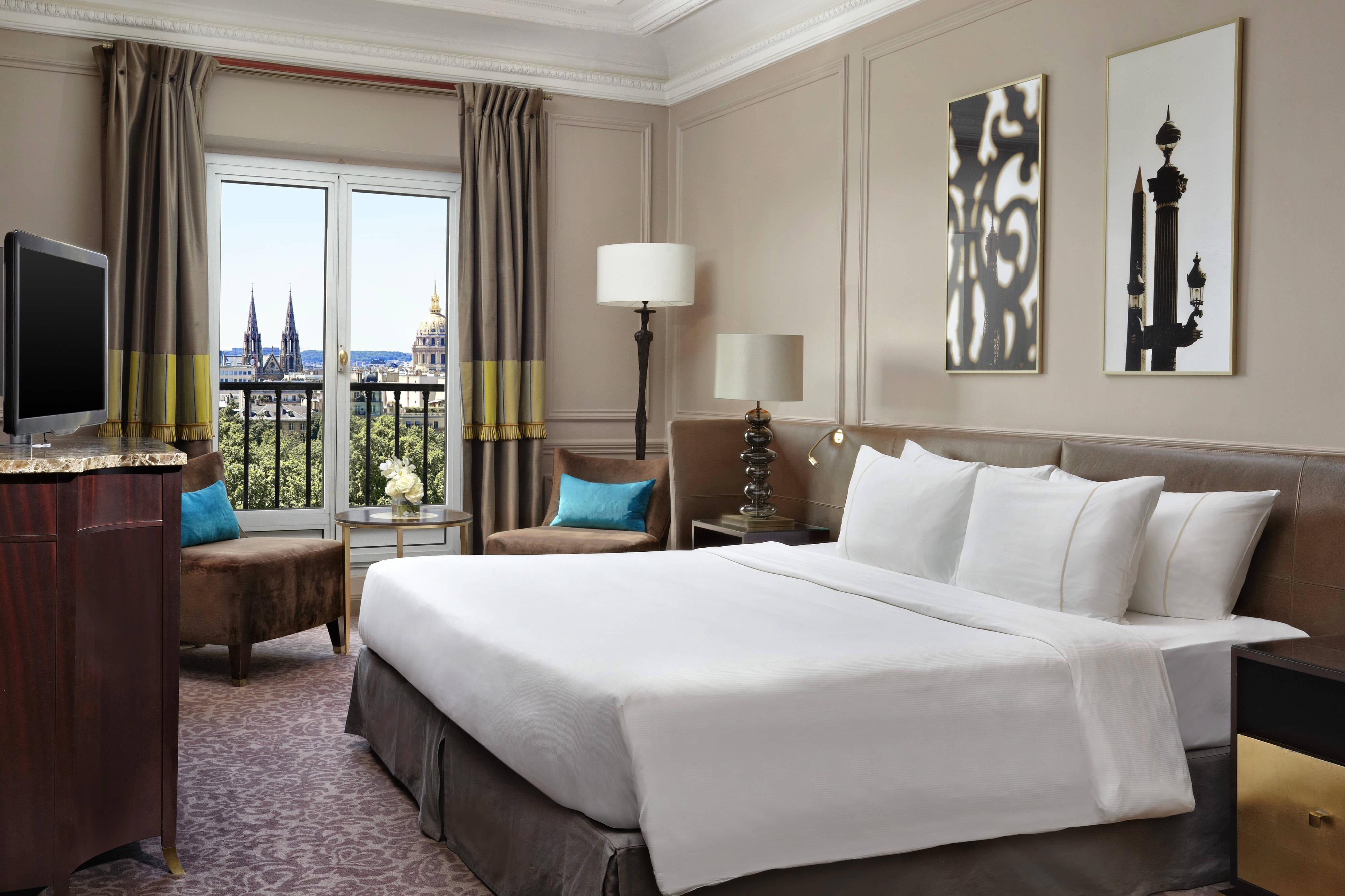 Habitación para invitados de la suite Ambassador