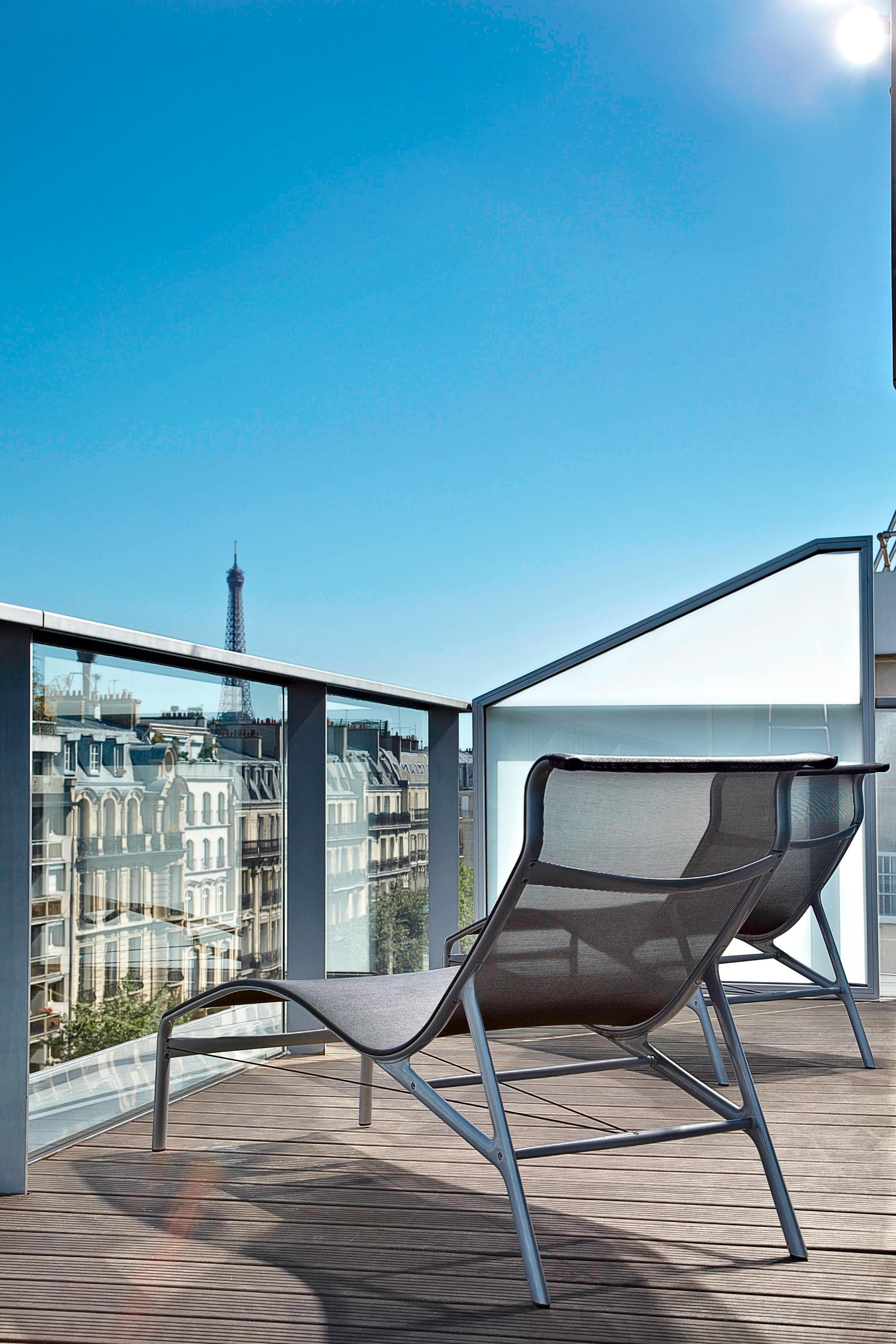 Paris Sky View Terrace Guest Room – Balcony